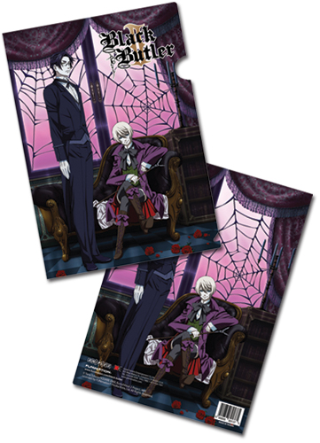 Black Butler 2 Key Art File Folder, an officially licensed product in our Black Butler Stationery department.
