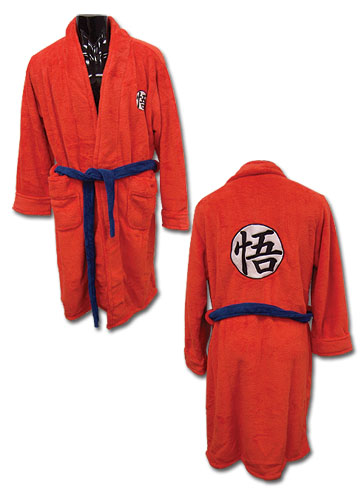 Dragon Ball Z Goku Bath Robe (osfm), an officially licensed Dragon Ball Z Accessory