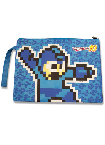 Megaman 10 8Bit File Folder Paper Carrying Bag officially licensed Mega Man Stationery product at B.A. Toys.