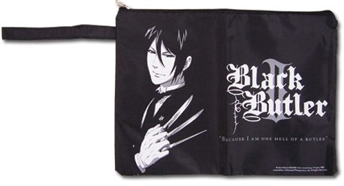 Black Butler 2 Sebastian Paper Carrying Bag, an officially licensed Black Butler product at B.A. Toys.
