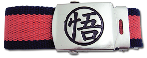 Dragon Ball Z Goku Mark Fabric Belt officially licensed Dragon Ball Z Belts & Buckles product at B.A. Toys.