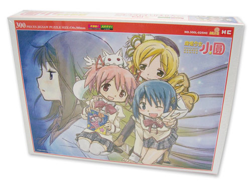 Madoka Magica Group 300Pc Jigsaw Puzzle, an officially licensed product in our Madoka Magica Puzzles department.