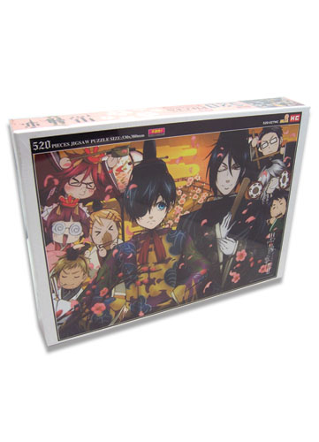 Black Butler 2 Group 520Pcs Jigsaw Puzzle, an officially licensed Black Butler product at B.A. Toys.