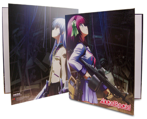 Angel Beats Yurippe & Kanade Binder, an officially licensed product in our Angel Beats Binders & Folders department.