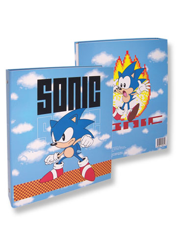 Classic Sonic Sonic Binder, an officially licensed product in our Sonic Binders & Folders department.