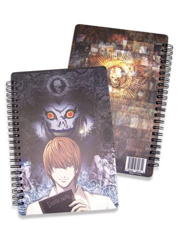 Death Note Ryu & Light Softcover Notebook officially licensed Death Note Stationery product at B.A. Toys.