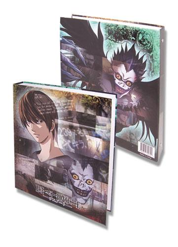 Death Note Group Binder, an officially licensed Death Note Binder/ Folder