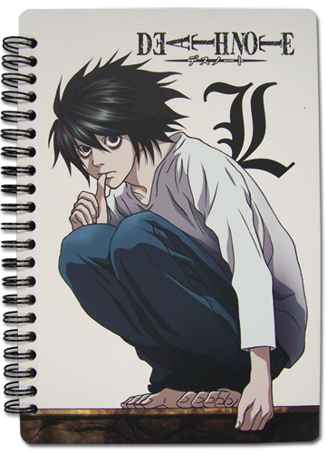 Death Note L Notebook, an officially licensed Death Note product at B.A. Toys.