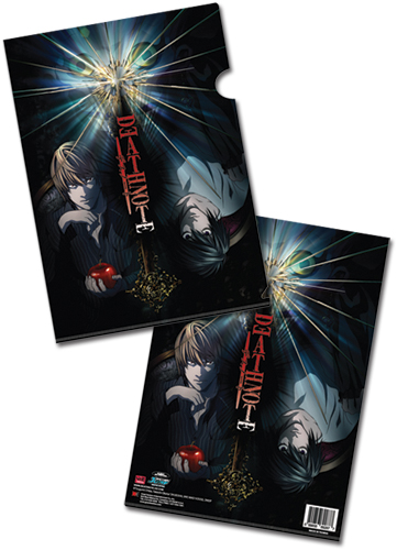 Death Note L Vs Light And Ryuk File Folder (5 Pcs/Set), an officially licensed product in our Death Note Stationery department.
