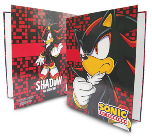 Sonic The Hedgehog Shadow Binder, an officially licensed product in our Sonic Binders & Folders department.