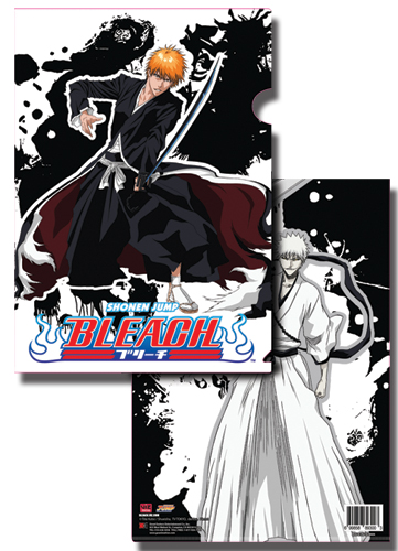 Bleach Ichigo & Hollow Ichigo File Folder, an officially licensed Bleach product at B.A. Toys.