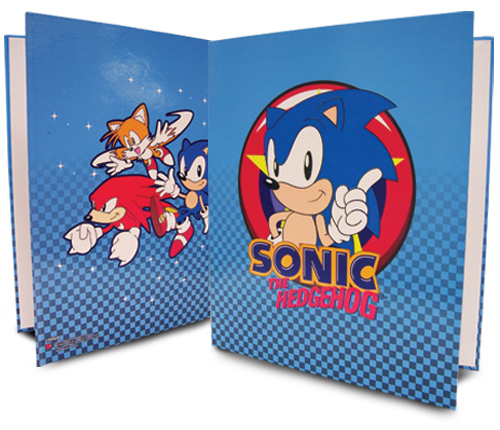 Classic Sonic Group Binder, an officially licensed product in our Sonic Binders & Folders department.