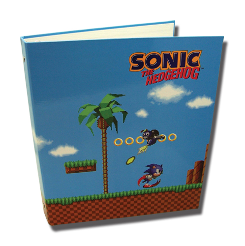 Classic Sonic Green Hill Zone Binder, an officially licensed product in our Sonic Binders & Folders department.