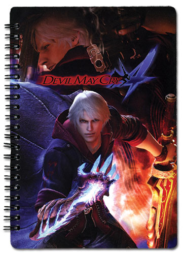 Devil May Cry Devil May Cry Spiral Notebook, an officially licensed Devil May Cry Stationery