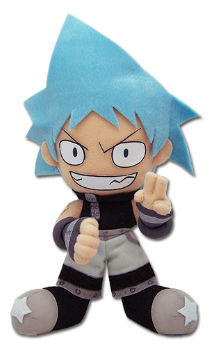 Soul Eater Black Star Plush, an officially licensed product in our Soul Eater Plush department.