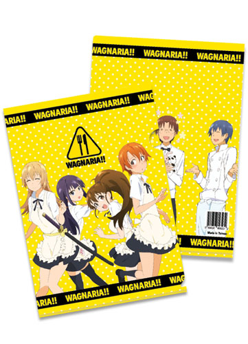 Wagnaria!! Wagnaria Logo File Folder, an officially licensed product in our Wagnaria!! Binders & Folders department.