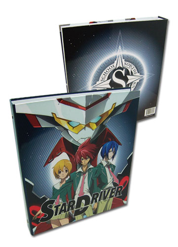 Star Driver Group Binder, an officially licensed product in our Star Driver Binders & Folders department.