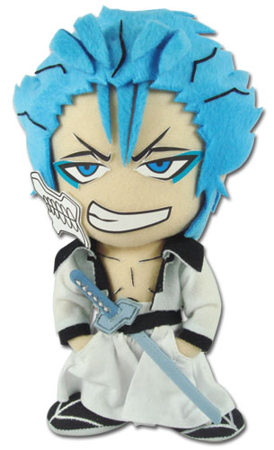 Bleach Grimmjow 8 Plush, an officially licensed Bleach product at B.A. Toys.