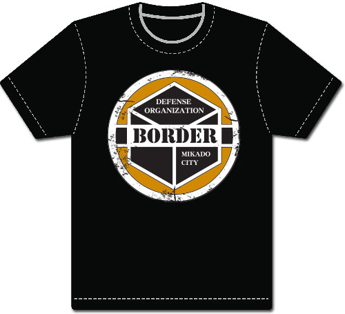 World Trigger - Border Defense Emblem Men's Screen Print T-Shirt L officially licensed World Trigger T-Shirts product at B.A. Toys.