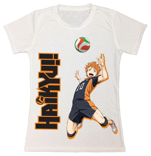 Haikyu!! - Hinata Jrs. Sublimation T-Shirt L, an officially licensed product in our Haikyu!! T-Shirts department.