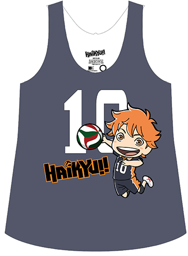 Haikyu!! - Sd Shoyo 10 Sublimation Tank Top L, an officially licensed product in our Haikyu!! T-Shirts department.