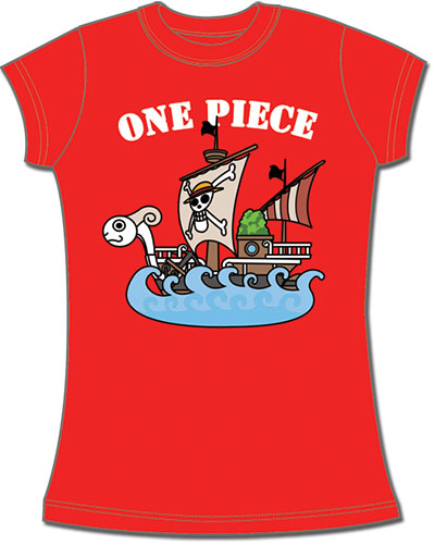 One Piece - The Ship Merry Jrs. Screen Print T-Shirt L, an officially licensed product in our One Piece T-Shirts department.