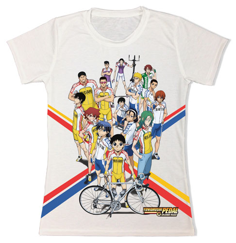 Yowamushi Pedal Gr - Group Sublimation Jrs. T-Shirt L, an officially licensed product in our Yowamushi Pedal T-Shirts department.
