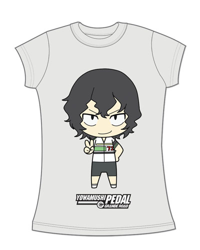 Yowamushi Pedal - Teshima Jrs. Screen Print T-Shirt L, an officially licensed product in our Yowamushi Pedal T-Shirts department.