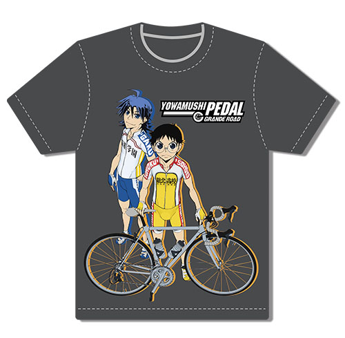 Yowamushi Pedal Gr - Onoda & Manami Men's Screen Print T-Shirt L, an officially licensed product in our Yowamushi Pedal T-Shirts department.
