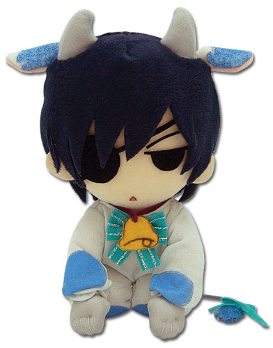 Black Butler Ciel Cow Cosplay 7.5