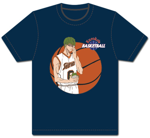 Kuroko's Basketball - Midorima Men's Screen Print T-Shirt L, an officially licensed product in our Kuroko'S Basketball T-Shirts department.