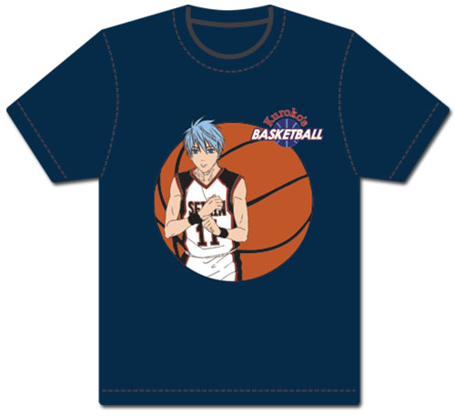Kuroko's Basketball - Kuroko Men's Screen Print T-Shirt L, an officially licensed product in our Kuroko'S Basketball T-Shirts department.