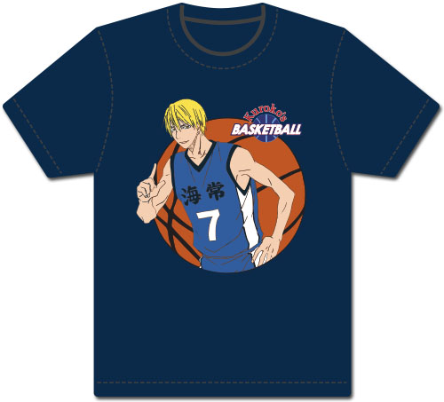 Kuroko's Basketball - Kise Men's Screen Print T-Shirt L, an officially licensed product in our Kuroko'S Basketball T-Shirts department.