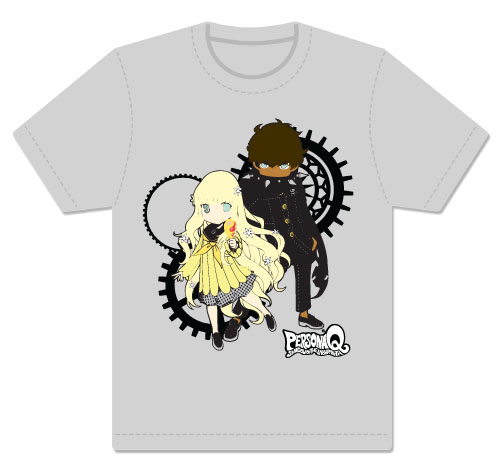 Persona Q - Rei & Zen Men's Screen Print T-Shirt L, an officially licensed product in our Persona T-Shirts department.