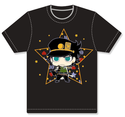 Jojo - Jotaro Sd Men's Screen Print T-Shirt S, an officially licensed product in our Jojo'S Bizarre Adventure T-Shirts department.