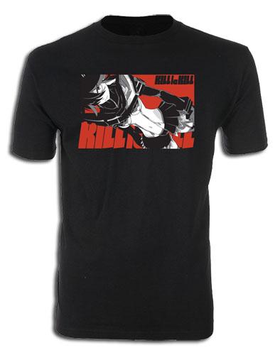 Kill La Kill- Ryuko Screen Print T-Shirt L, an officially licensed product in our Kill La Kill T-Shirts department.