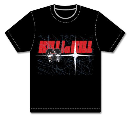 Kill La Kill - Ryuko & Satsuki Men's Screen Print T-Shirt L, an officially licensed product in our Kill La Kill T-Shirts department.