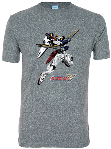 Gundam Wing - Xxxg - 01 Wing Gundam Men's Screen Print T-Shirt L, an officially licensed product in our Gundam Wing T-Shirts department.