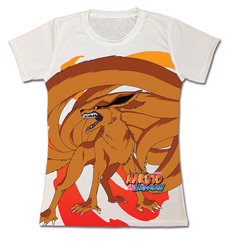Naruto Shippuden - Nine Tails Jrs. Sublimation T-Shirt L, an officially licensed product in our Naruto Shippuden T-Shirts department.