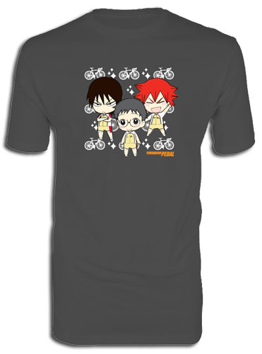 Yowamushi Pedal - Sd Group Biker Mens Screen Print T-Shirt L, an officially licensed product in our Yowamushi Pedal T-Shirts department.