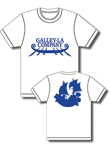 One Piece - Galley-La Screen Print T-Shirt L, an officially licensed product in our One Piece T-Shirts department.