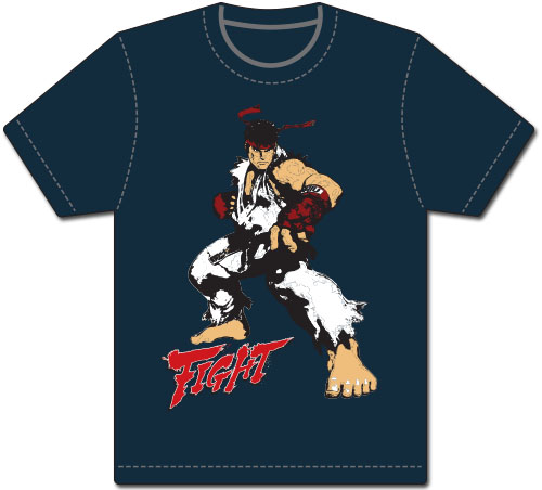 Street Fighter V - Ryu Men's Screen Print T-Shirt L, an officially licensed product in our Street Fighter T-Shirts department.