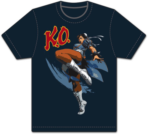 Street Fighter V -Chun Li Men's Screen Print T-Shirt L, an officially licensed product in our Street Fighter T-Shirts department.