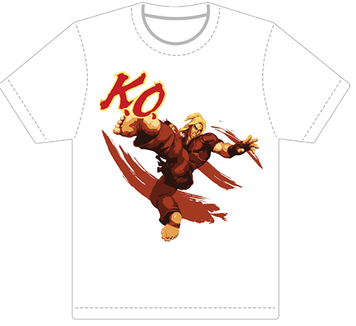 Street Fighter V - Ken Men's T-Shirt L, an officially licensed product in our Street Fighter T-Shirts department.