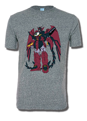 Gundam Wing - Epyon Men's Screen Print T-Shirt L, an officially licensed product in our Gundam Wing T-Shirts department.