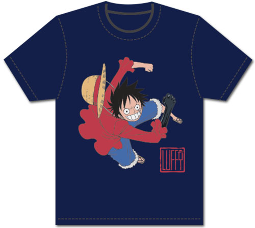 One Piece - Luffy Busoshoku Haki Men's Screenprint T-Shirt L, an officially licensed product in our One Piece T-Shirts department.