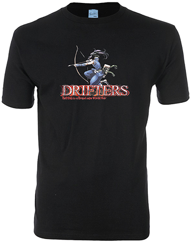 Drifters - Nasu Men's T-Shirt L, an officially licensed product in our Drifters T-Shirts department.