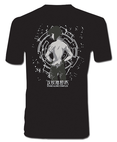 Ghost In The Shell - Motoko Men's Screen Print T-Shirt L, an officially licensed product in our Ghost In The Shell T-Shirts department.