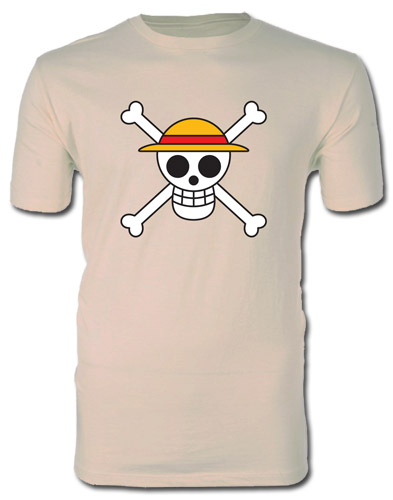 One Piece - Jolly Roger Screen Print T-Shirt L, an officially licensed product in our One Piece T-Shirts department.