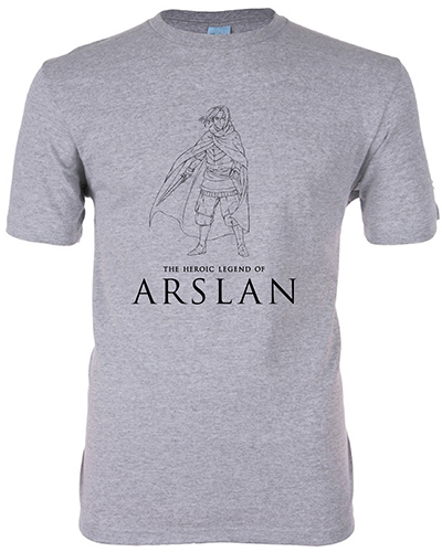 Heroic Legend Of Arslan - Arslan Men's Screen Print T-Shirt L officially licensed Heroic Legend Of Arslan T-Shirts product at B.A. Toys.